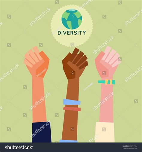 illustration peoples different skin color stock vector 319717904