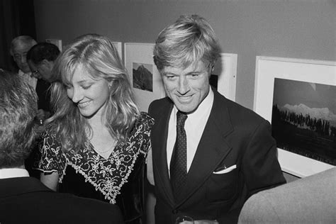 robert redford daughter shauna redford stock photos and pictures getty images