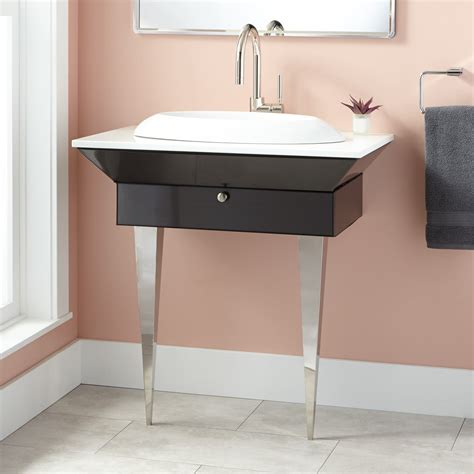 wall mounted vanity 24 quot cyrus wall mount vanity with lighted medicine cabinet