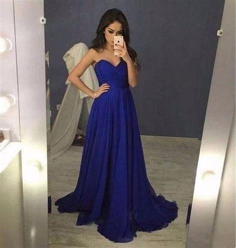 vestidos de fiesta color azul rey  curso de