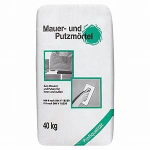 Mauer Und Putzmörtel : mauer und putzm rtel 40 kg bauhaus ~ Articles-book.com Haus und Dekorationen