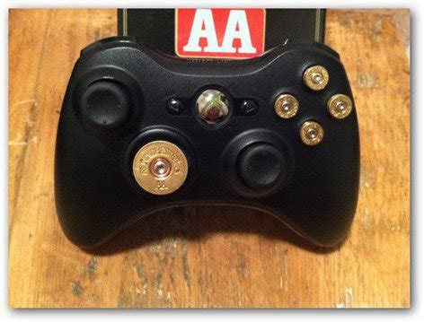 xbox 360 controller with fan steunk xbox 360 bullet controller
