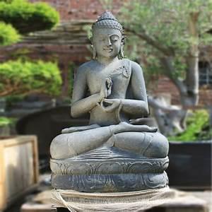 Buddha Aus Stein : klassische buddha gartenfigur aus naturstein ~ Eleganceandgraceweddings.com Haus und Dekorationen