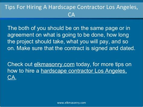 contractor tips tips for hiring a hardscape contractor los angeles ca