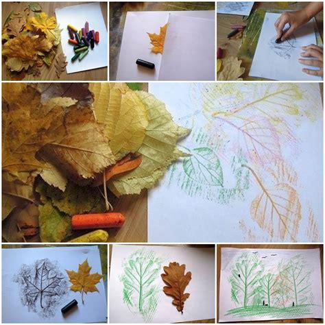 Creative Leaf Drawing