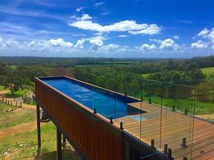 Pool Aus Container : tips to choose build and install a shipping container pool ~ Orissabook.com Haus und Dekorationen