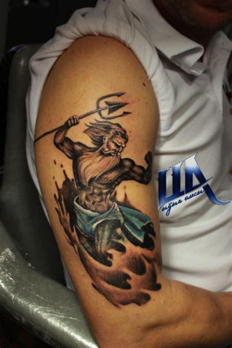 poseidon tattoos designs ideas  meaning tattoos