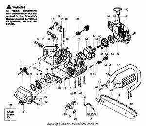 Poulan 2025 Gas Saw Parts Diagram For Handle  U0026 External Power Unit