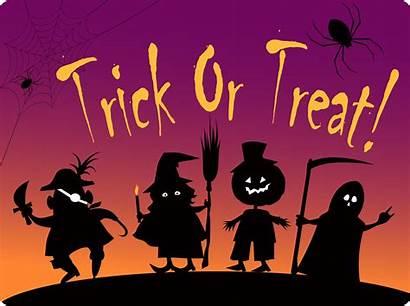 Trick Treat Halloween Candy Clip Truc Behandelt