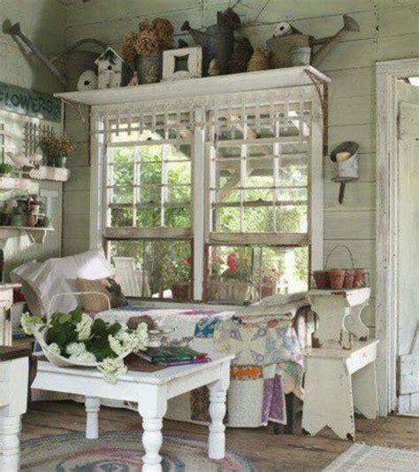 shabby chic garden room shabby chic summer home window treatments pinterest