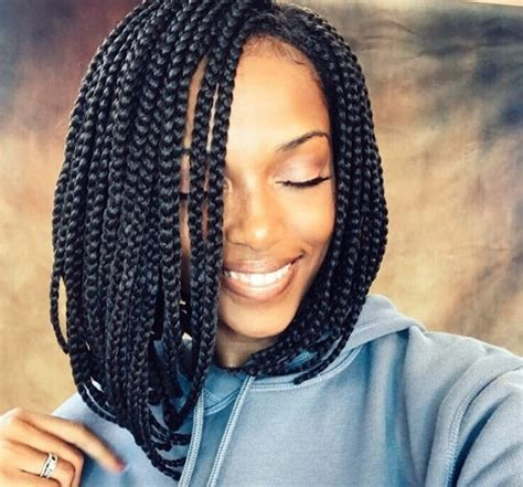 7 reasons you should rock an on trend box braids bob style