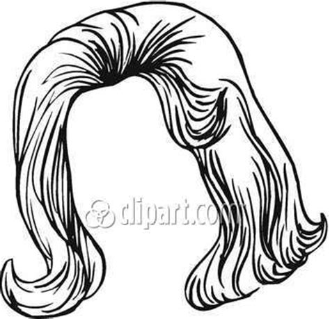hair clipart black and white black hair wig clipart clipart panda free clipart images