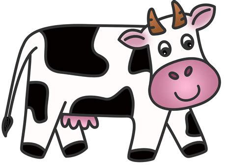 Cattle Clipart Cow Milk Pencil And In Color Cattle