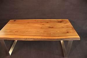 Tischplatte Mit Baumkante : tischplatte mit baumkante massivholz kaukasischer nussbaum a b mit splint dl 40 2000 1000 ~ Frokenaadalensverden.com Haus und Dekorationen
