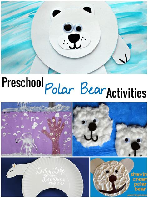 activities archives page 6 of 11 living and 601   preschool polar bear