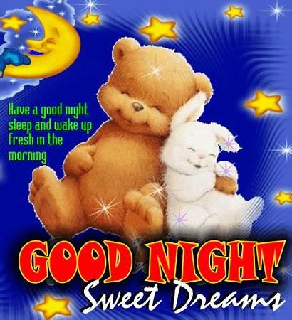 Night Sleep Greetings Wishes Cards Goodnight Sweet