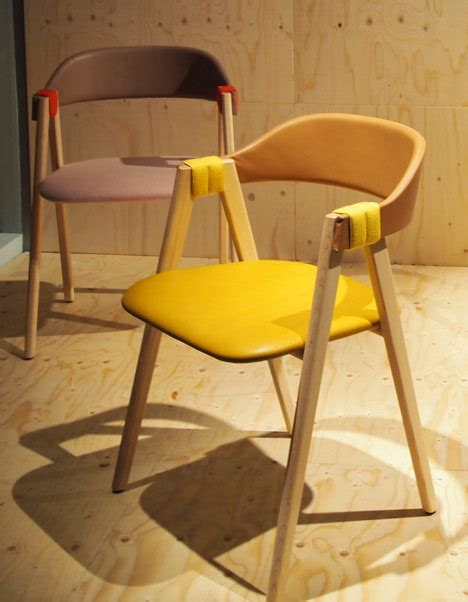 Mathilda chair with rush backrest by Patricia Urquiola for