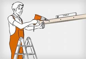 Spiegel An Der Wand Befestigen : dachkonstruktion aus holz bauen anleitung von obi ~ Markanthonyermac.com Haus und Dekorationen