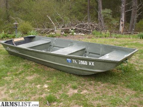 Fishing Jon Boats For Sale by Armslist For Sale Trade 12 Aluminum Boat