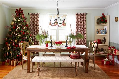 christmas dining room decorating ideas  festive flair