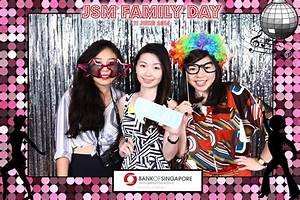 Bank Photo Booth Singapore THAT Balloons