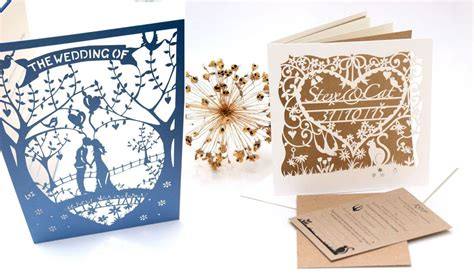 elegant lasercut wedding stationery introducing