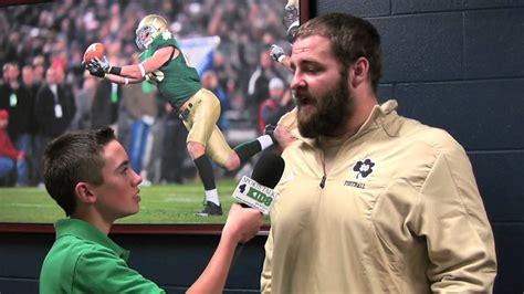 Notre Dame Mike Golic Jr. - YouTube