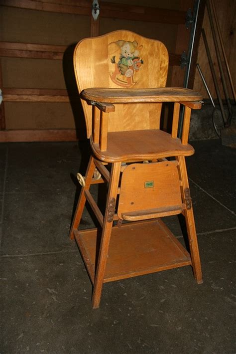 high chair nostalgia