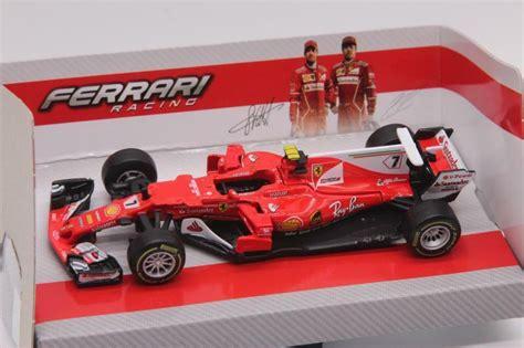 F1 Model Cars by Bburago 1 43 2017 Formula 1 F1 Sf70h 7 Kimi