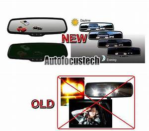 Universal Night Eyes Auto Dimming Rearview Mirror