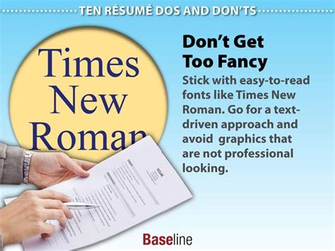 Hiring That Don T Require A Resume by Ten R 233 Sum 233 Dos And Don Ts