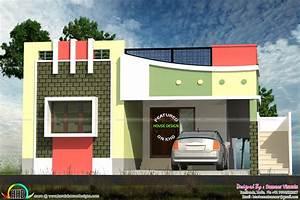 Small Tamilnadu Style Home Design Kerala Home Design And