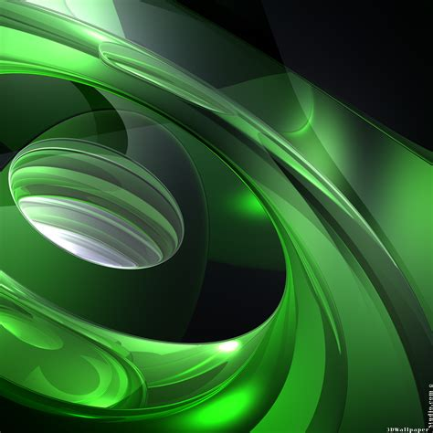 3d Wallpaper Green Screen by 3d Abstract Sound Of Green Wallpapers 2048x2048