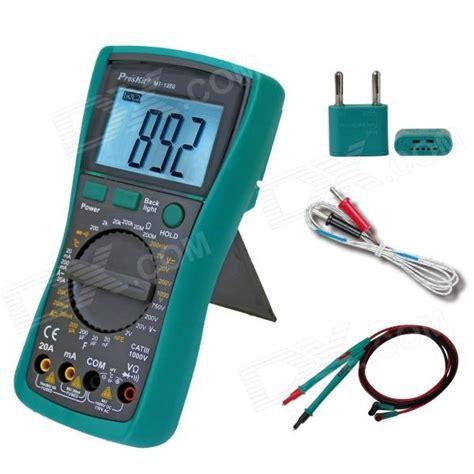 best 28 test light socket with multimeter digital