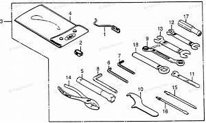 Honda Motorcycle 1985 Oem Parts Diagram For Tools