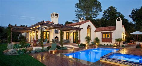 New Spanish Colonial Revival   Allen Construction