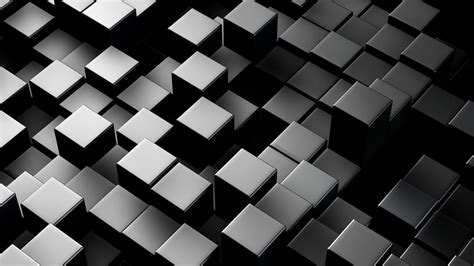 3d Backgrounds by Metallic 3d Boxes Loopable Abstract Background 4k Uhd