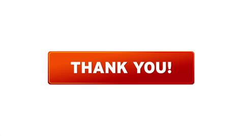 A Person Pushing A Thank You Icon Stock Footage Video