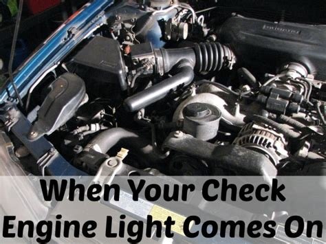 engine light came on the spring mount 6 pack life is busy but you have to