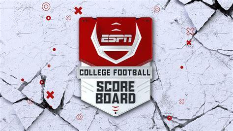 College Football Scoreboard | Watch ESPN