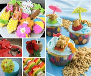 Luau Baby Shower Cakes