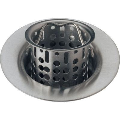 Home Depot Bar Sink Strainer by Delta Classic Collection 4 In Kitchen Sink Flange And