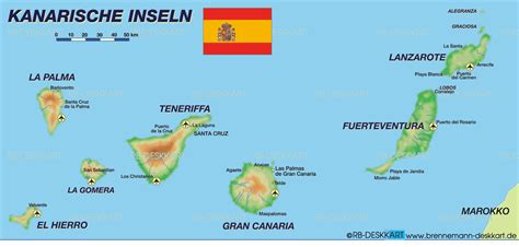 map  canary islands   spain welt atlasde