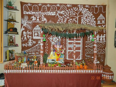 25 ganesh chaturthi decoration idea pictures