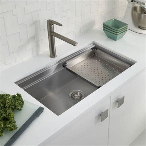 houzer kitchen sink ex nvs5200 novus series undermount single bowl kitchen 1714