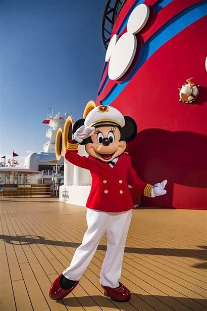 Minnie Disney Cruise Mouse Captain Line Female