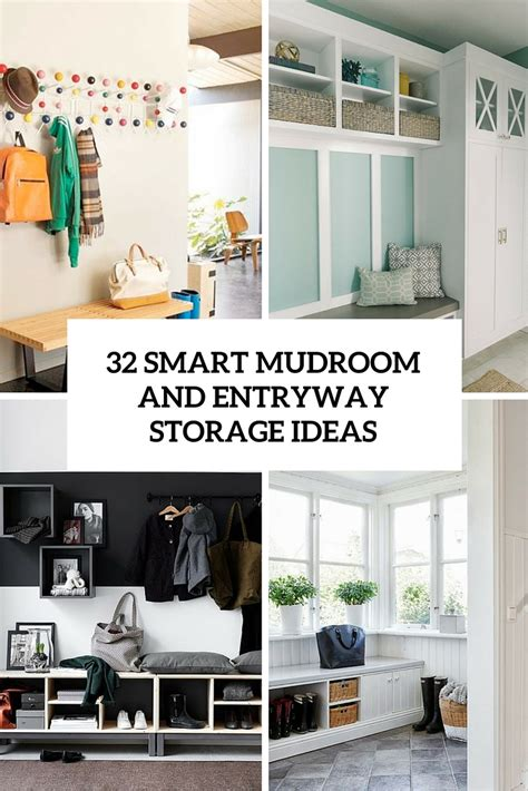 small entryway storage solutions 32 small mudroom and entryway storage ideas shelterness