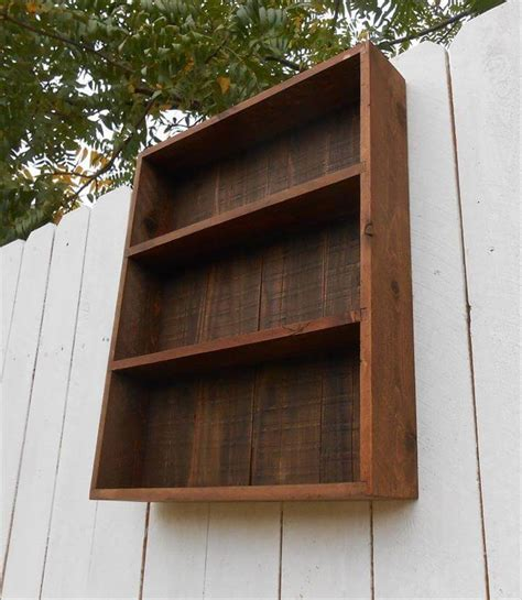 wooden pallet wall cabinet pallets pro