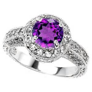 purple engagement ring another purple engagement ring jewelry