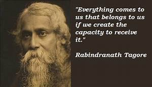Tagore Poems And Quotes. QuotesGram